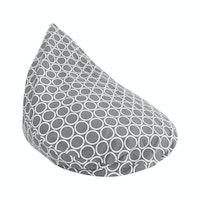 Beam and Co Teardrop Beanbag Hula Grey