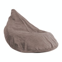 Beam and Co Teardrop Beanbag Suede Black