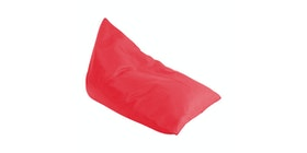Beam and Co Pizza Beanbag Synthetic Leather Red