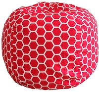 Beam and Co Beanbag Kisses Beehive Red