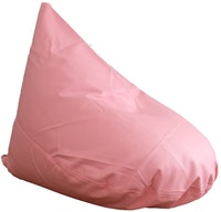 Beam and Co Beanbag Teardrop Synthetic Leather Pink