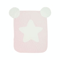 Dr.Bebe Cotton Candy Blanket - Pink White Star