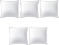 Sleep Max Cushion Insert Putih 40x40cm (3+2 Pcs)