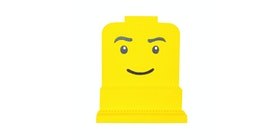 Biakidz Rak Display Mini Figure Wajah Lego