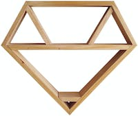 Biakidz Diamond Shadow Box Shelf