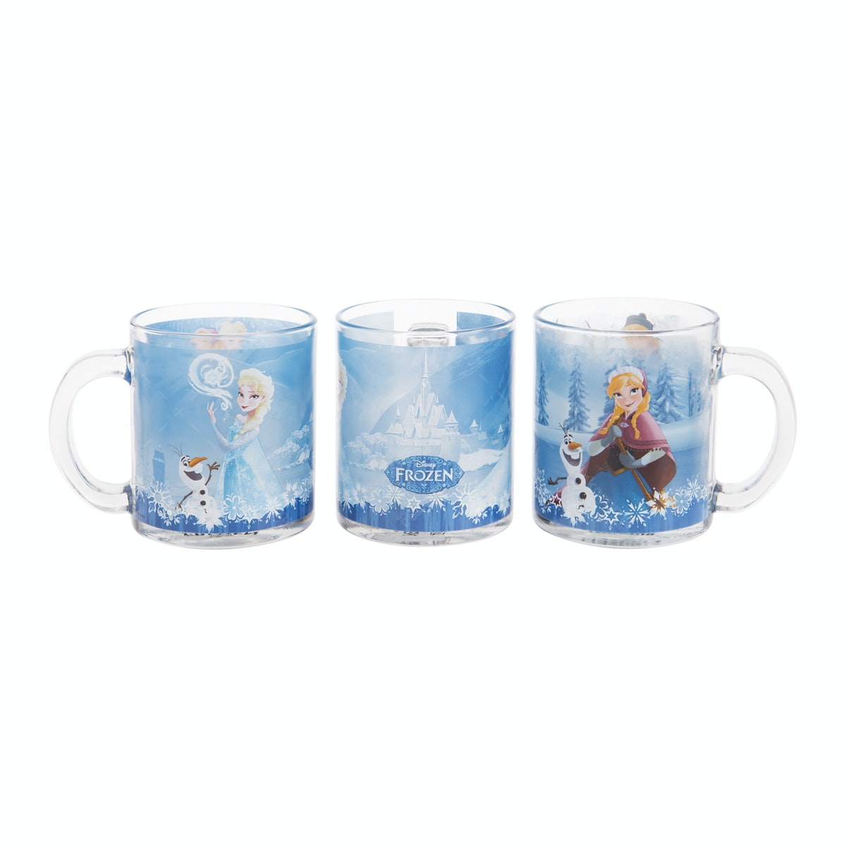 Brilliant Glass Mug Frozen GMC3600 - 3 pcs
