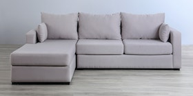 Voda Collection Harold Sofa L Krem Kanan