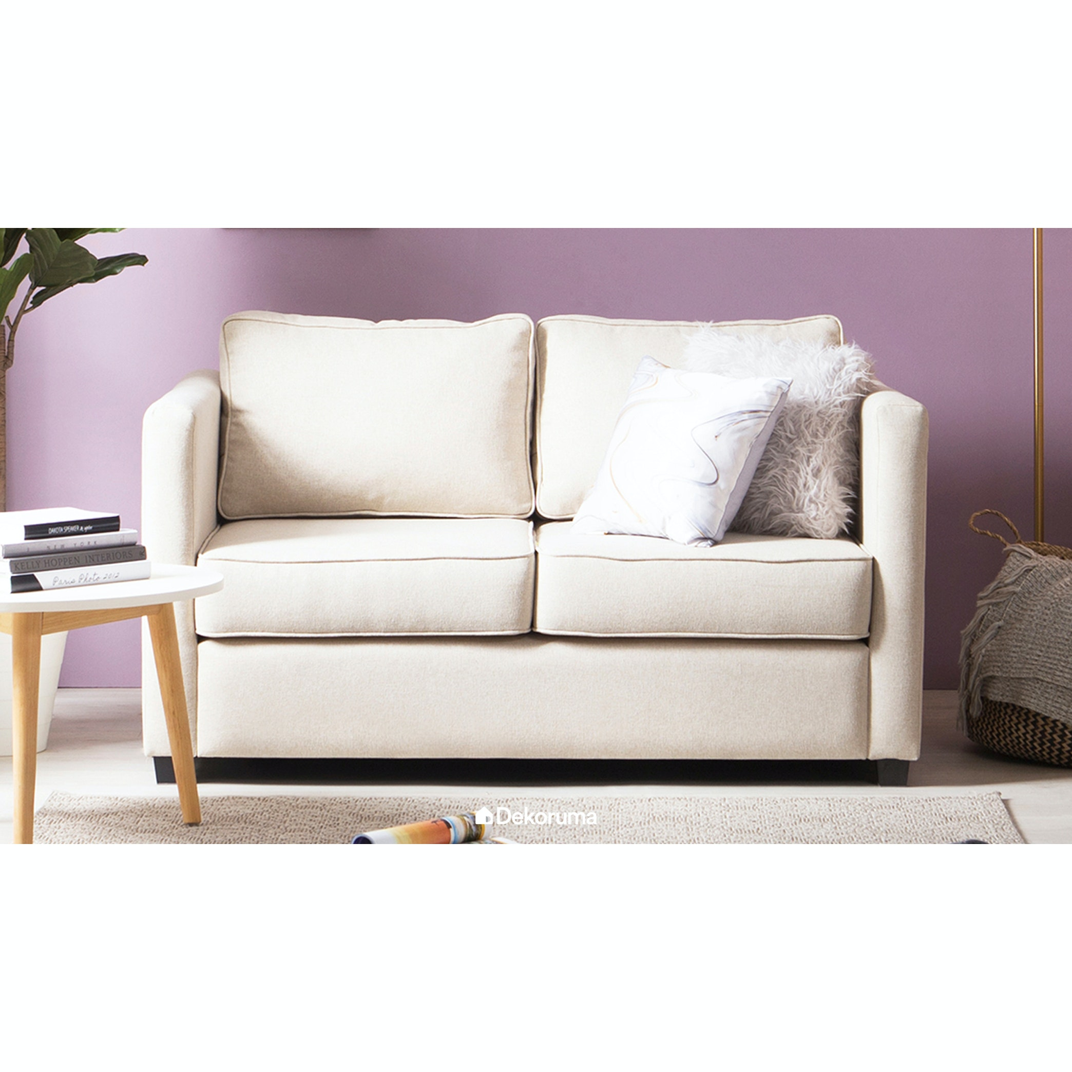 Voda Collection Montana Sofa 2 Dudukan Krem