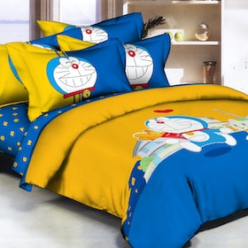 Bloomingdale Doraemon Lovely Bed Cover set single Fitted 100 x 200 x 30