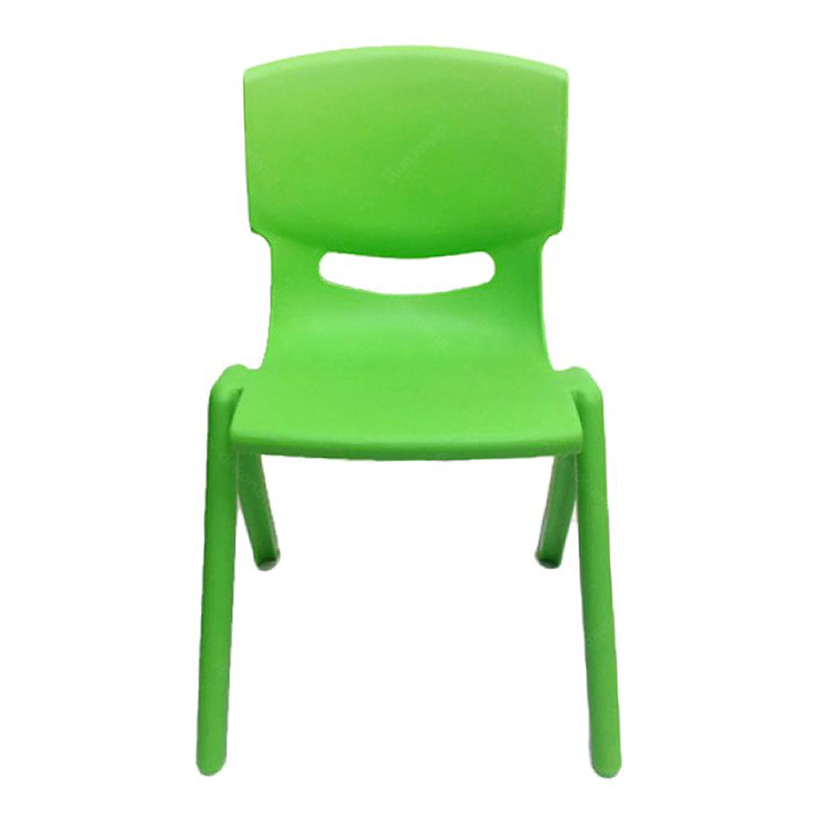 Graphix Pikko Chair - Kursi Anak / Bangku - Green (2 pcs)