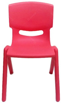 Graphix Pikko Chair - Kursi Anak / Bangku - Red (2 pcs)