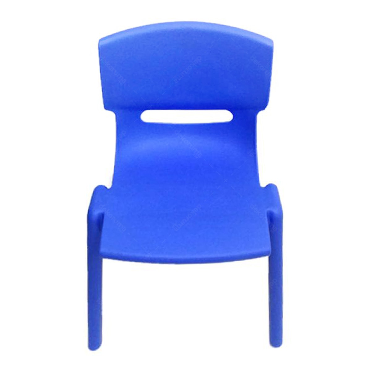 Graphix Pikko Chair - Kursi Anak / Bangku - Blue ( 2 Pcs)