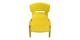 Graphix Pikko Chair - Kursi Anak / Bangku - Yellow (2 Pcs)