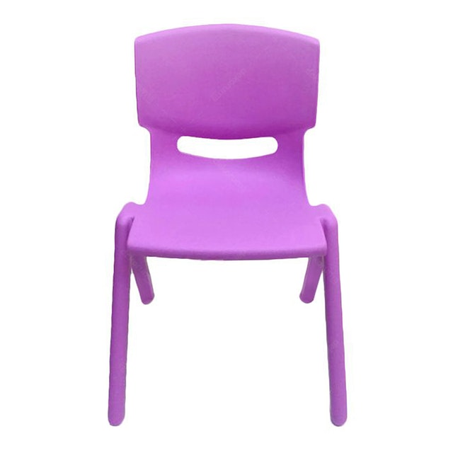 Graphix Pikko Chair - Kursi Anak / Bangku -  Purple (2 Pcs)