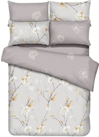 Graphix Raiden Set Sprei Microtex T40cm - Cream Uk 180x200x40cm