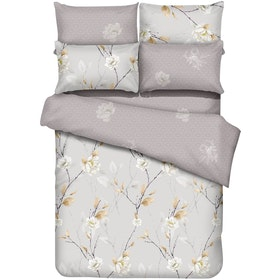 Graphix Raiden Set Sprei Microtex T40cm - Cream Uk 160x200x40cm