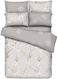 Graphix Raiden Set Sprei Microtex T40cm - Cream Uk 120x200x40cm