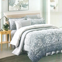 Pantone Roseanne Microtex Bed Cover Set King 180x200x40cm