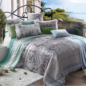 Juliahie Levine Organic Sprei Fitted Full Fitted 120x200x40cm