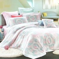 Juliahie Lupita Organic Sprei Fitted Queen Fitted 160x200x40cm