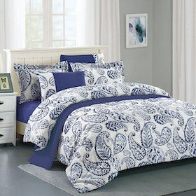 Pantone Raven Microtex Sprei King Fitted 180x200x40cm
