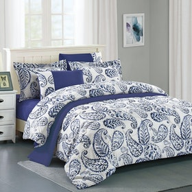 Pantone Raven Microtex Sprei Super King Fitted 200x200x40cm