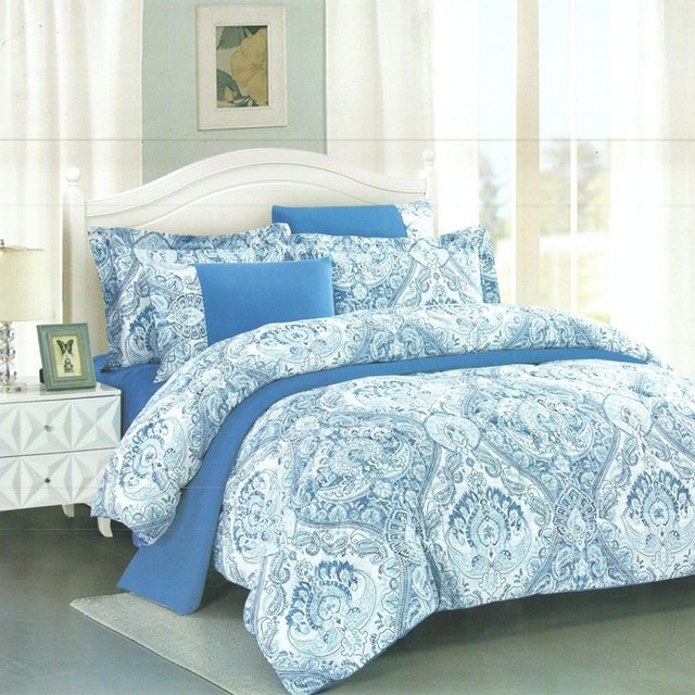 Pantone Rhea Microtex Sprei Super King Fitted 200x200x40cm