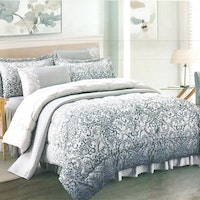 Pantone Roseanne Set Sprei dan Bed Cover Super King 200x200x40cm