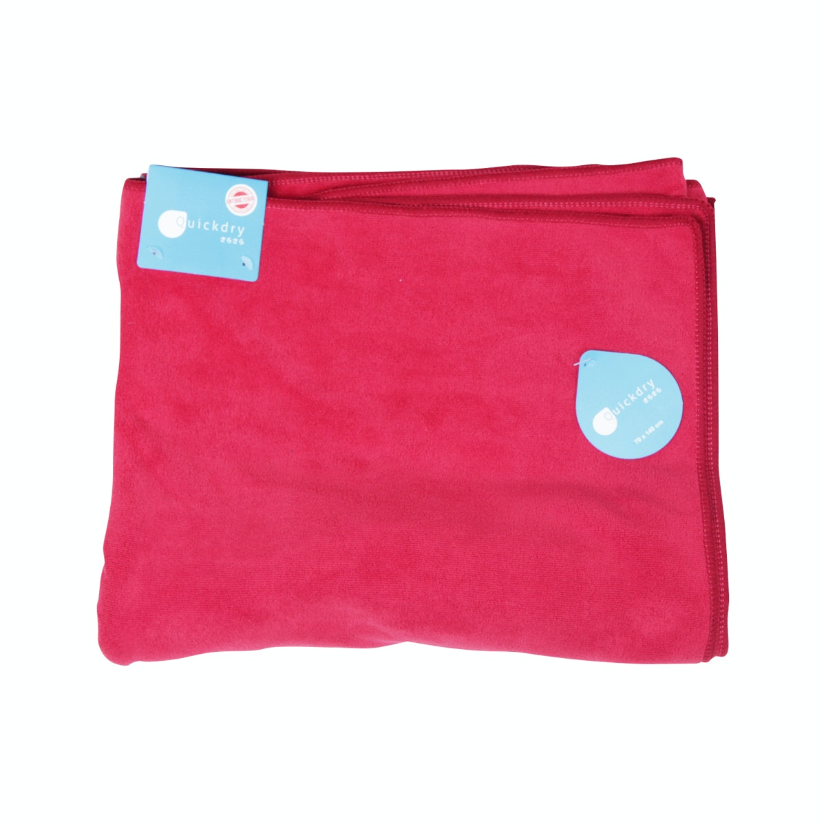 Quickdry Travel Towel Dark Red