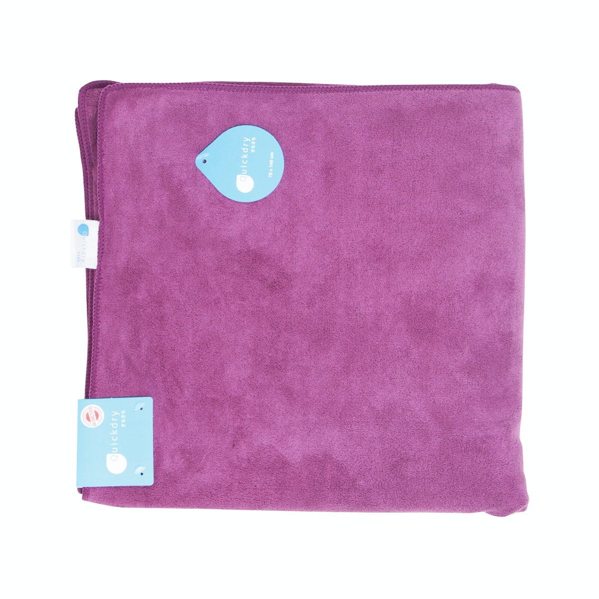 Quickdry Travel Towel Dark Purple