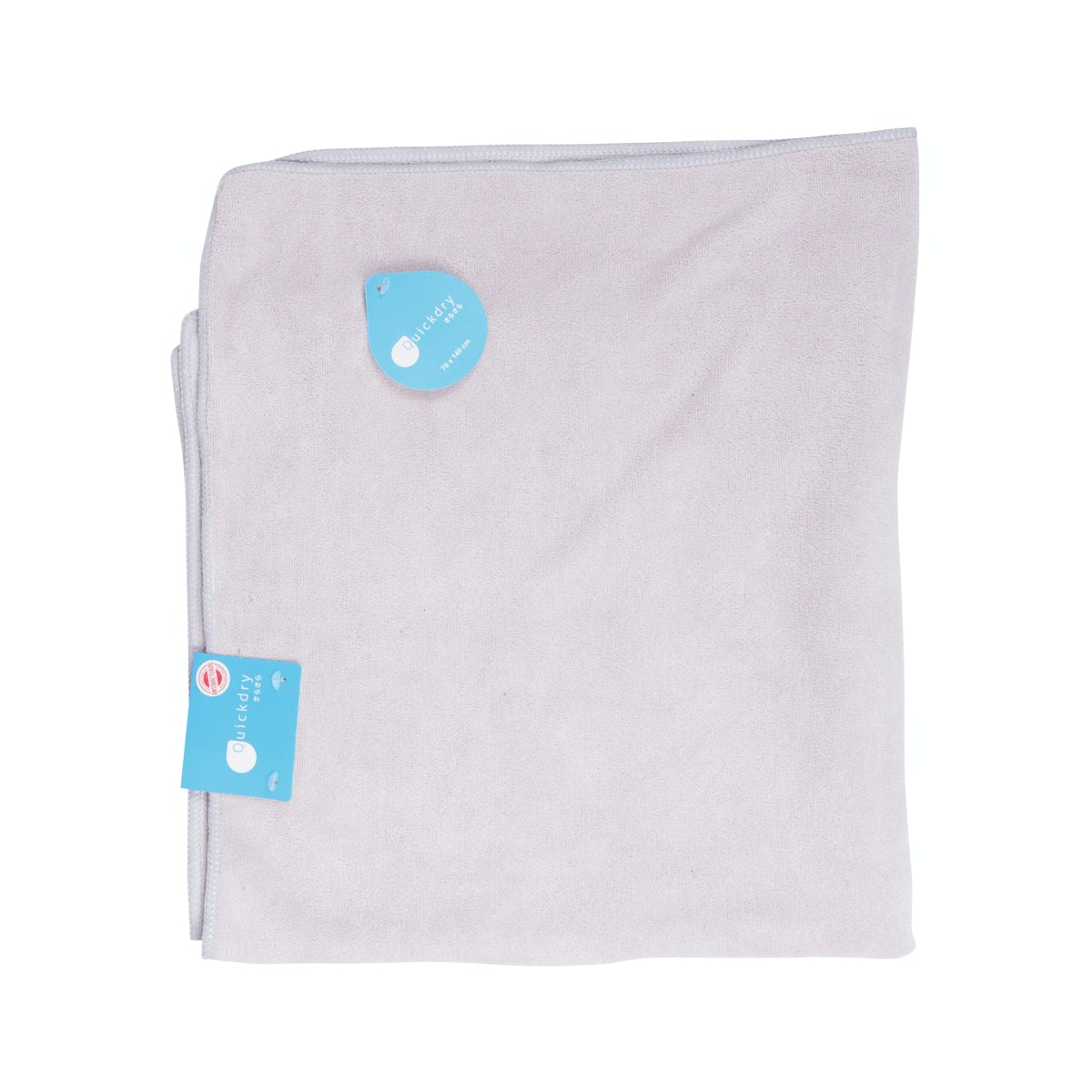 Quickdry Travel Towel Light Grey