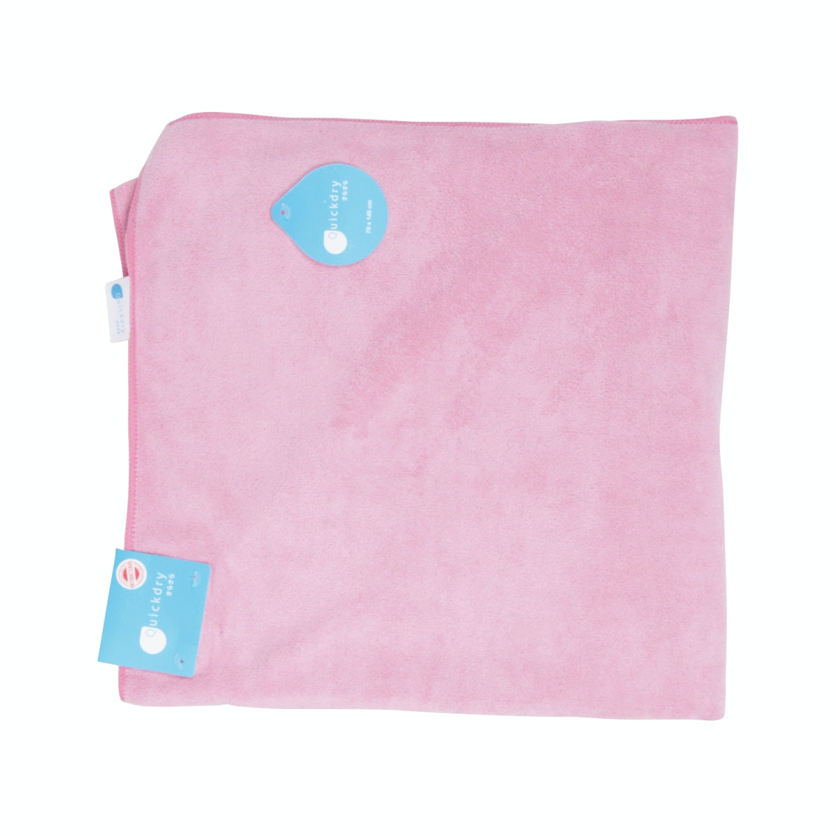 Quickdry Travel Towel Dark Pink