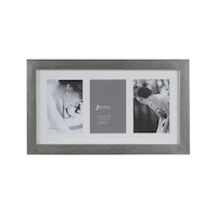 Jbrothers Collage Frame 3x 3R horizontal silver CF 02