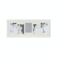 "Jbrothers Collage Frame ""Up & Down"" 5x 4R white CF 23"