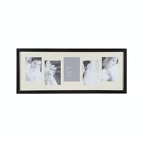 "Jbrothers Collage Frame ""Up & Down"" 5x 4R Black CF 24"