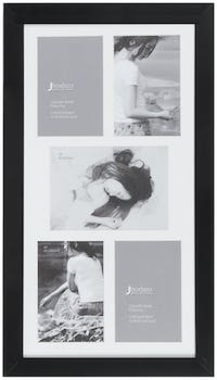 Jbrothers Collage Frame 5 opening black CF 25