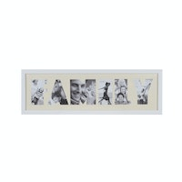 "Jbrothers Collage Frame ""Family"" 6 Foto white CF 26"