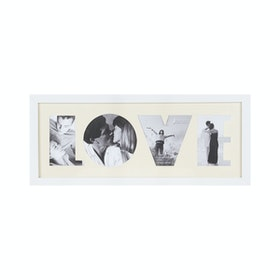 "Jbrothers Collage Frame ""Love"" 4 Foto White CF 28"