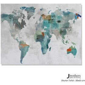 Jbrothers Poster Canvas Abstrack WD 16