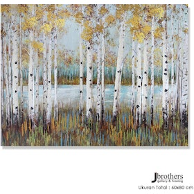 Jbrothers Poster Canvas Abstrack WD 18