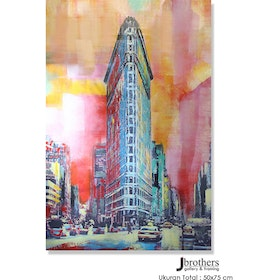 Jbrothers Poster Canvas Abstrack WD 26