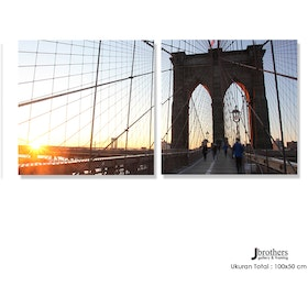 Jbrothers Poster Canvas Set WD 01