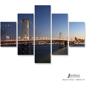 Jbrothers Poster Canvas Set WD 04