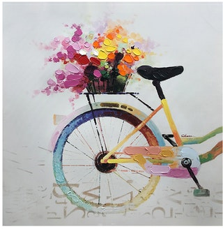 Jbrothers Print Canvas Abstrack WD 20