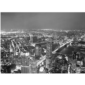 Jbrothers Poster Canvas City WD 12