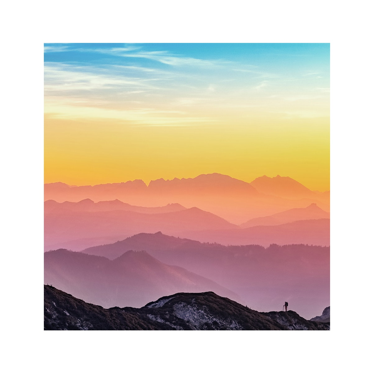 Jbrothers Print Canvas Landscape WD 26