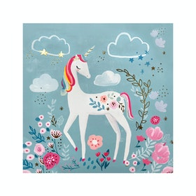 Jbrothers Poster Canvas Frameless Animal WD26 30x30cm