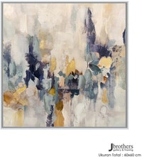 Jbrothers Poster Canvas Abstrack 50x50 cm Premium Series WD 63