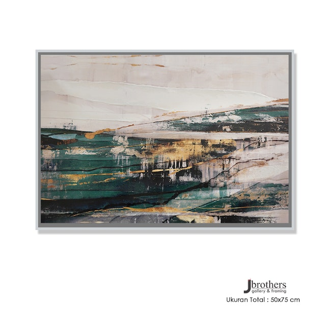 Jbrothers Poster Canvas Abstrack 50x75 cm Premium Series WD 84