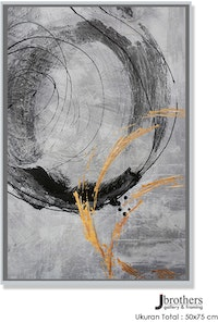 Jbrothers Poster Canvas Abstrack 50x75 cm Premium Series WD 91
